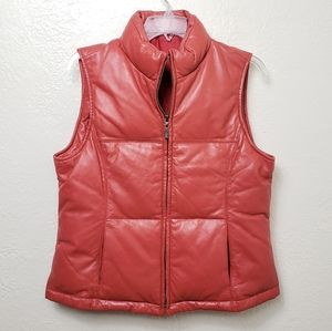LEATHER | BUTTERY SOFT PUFFER VEST